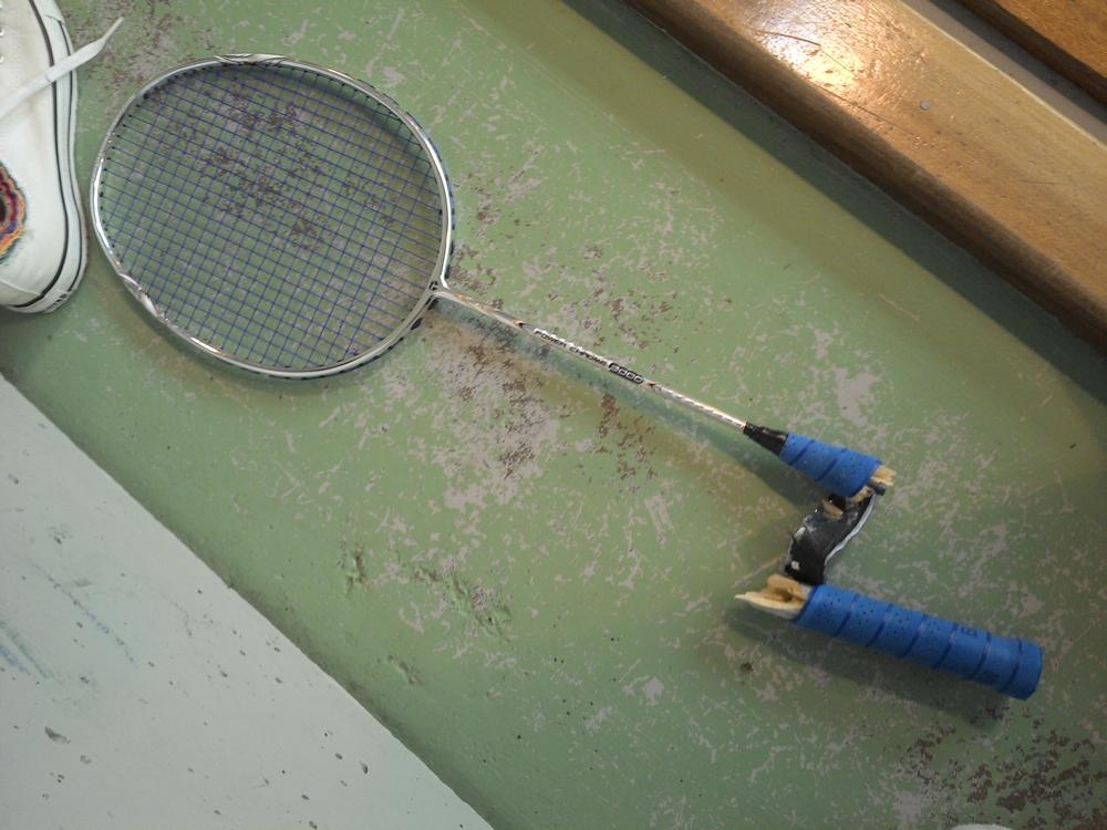 Bad racket (Saran 2014)