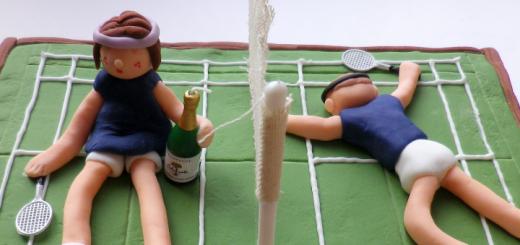 badminton-cake